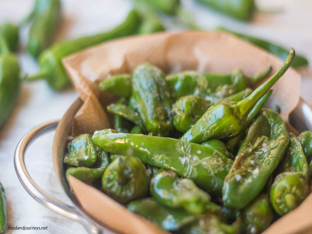 Fried Padron Green Peppers MPIC