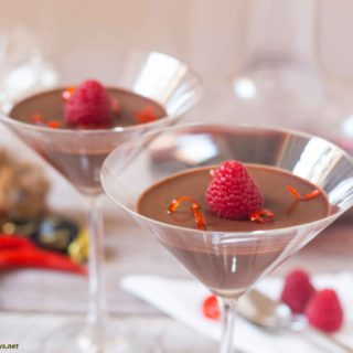Chocolate Chili Pannacotta MPIC