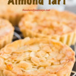 Pinterest Image for Swedish Almond Tart