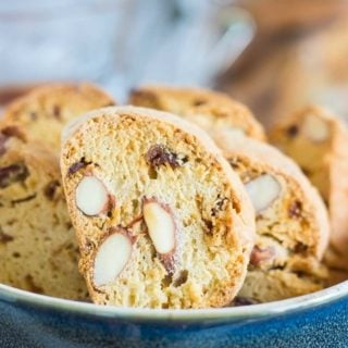 Tuscan Fig Cookies (Cantucci ai Ficchi)