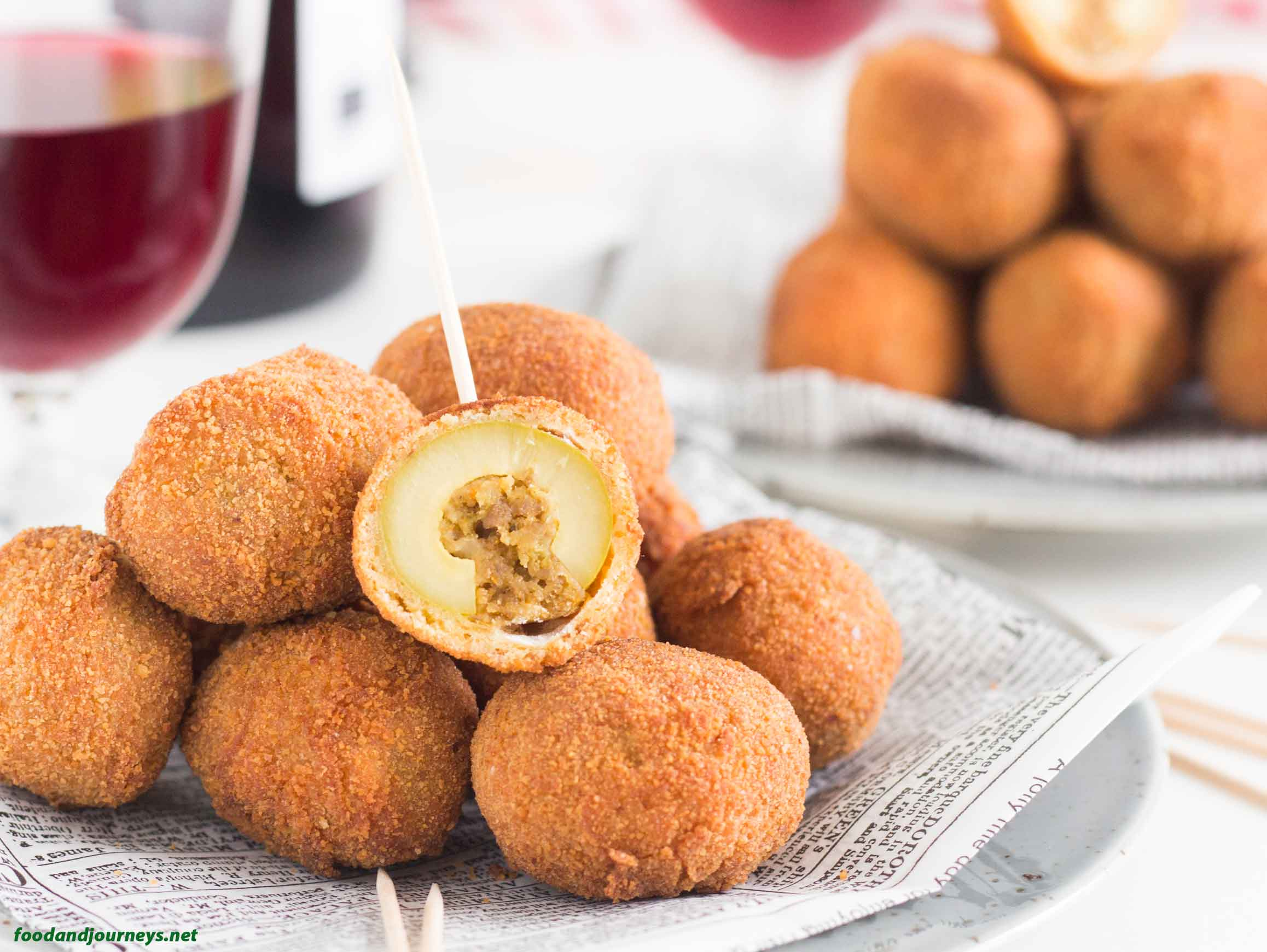Fried Stuffed Olives MPICLST
