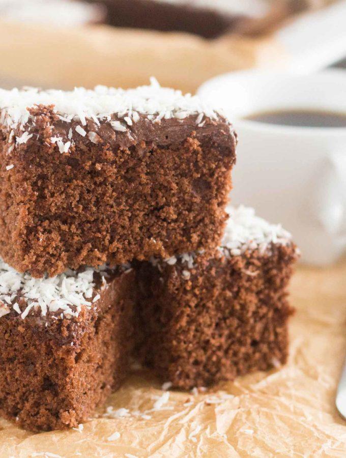 Swedish Chocolate Coffee Squares MPIC