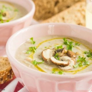 Cream of Beans & Mushrooms Soup MPIC