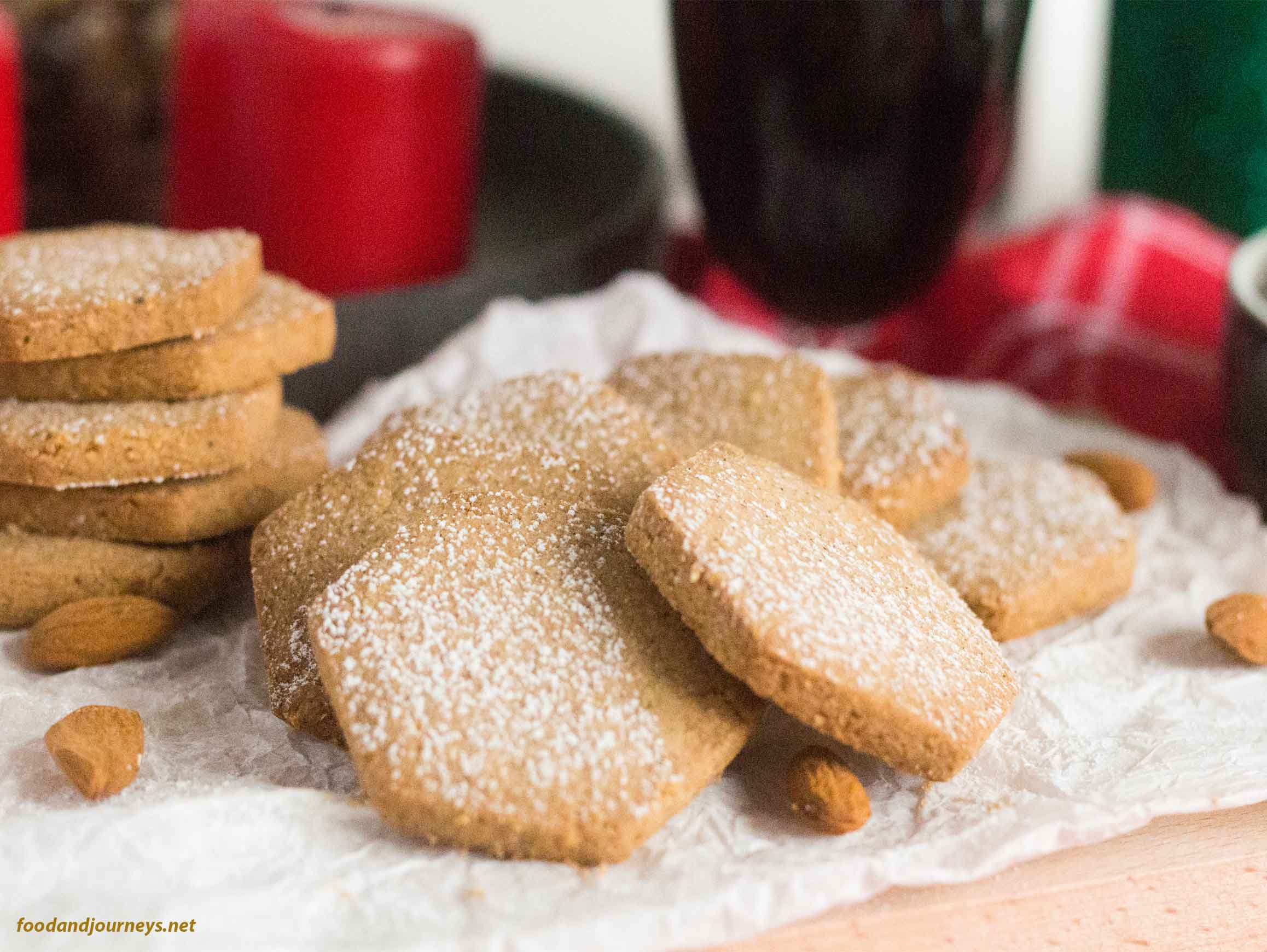 Polvorones Spanish Christmas Biscuits