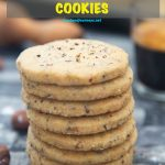 Pinterest image for Swedish Hazelnut & Cardamom Cookies UpdtJul19