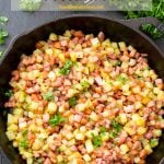 Pinterest image for Swedish Hash (Pyttipanna). An easy potato hash recipe that you would have no trouble making on your own!