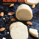 Pinterest Image for How to Make Almond Paste