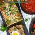 Pinterest Image1 for Neapolitan Meatloaf