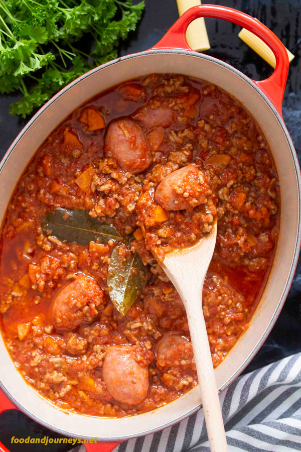 Pinterest Image2 for Calabrese-Style Meat Sauce (Ragù alla Calabrese)