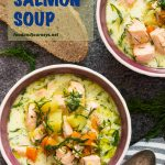 Pinterest Image#1 for Finnish Salmon Soup (Lohikeitto)
