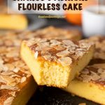 Pinterest Image for French Orange and Almond Flourless Cake