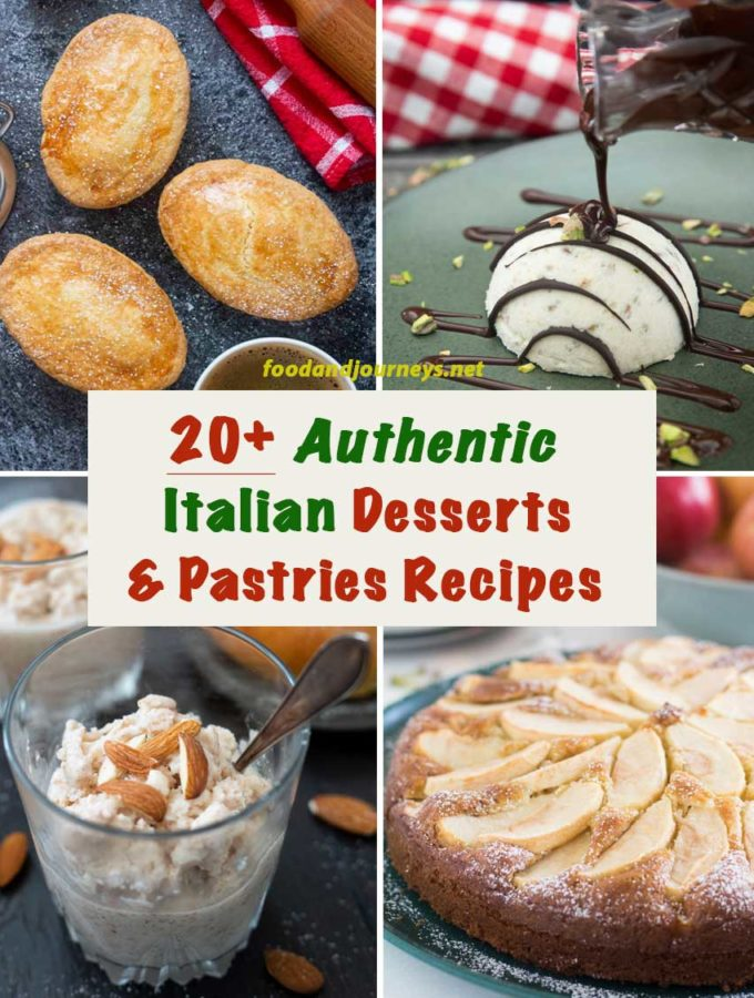 20+ Easy Italian Desserts & Pastries Recipes