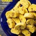 Pinterest image for Swedish Saffron Cookies