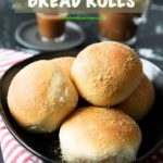 Pinterest image for Filipino Bread Rolls (Pandesal)