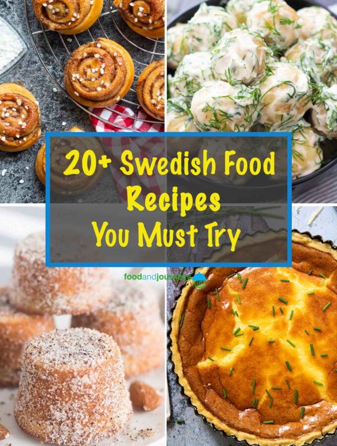20+ Swedish Food Recipes You Must Try