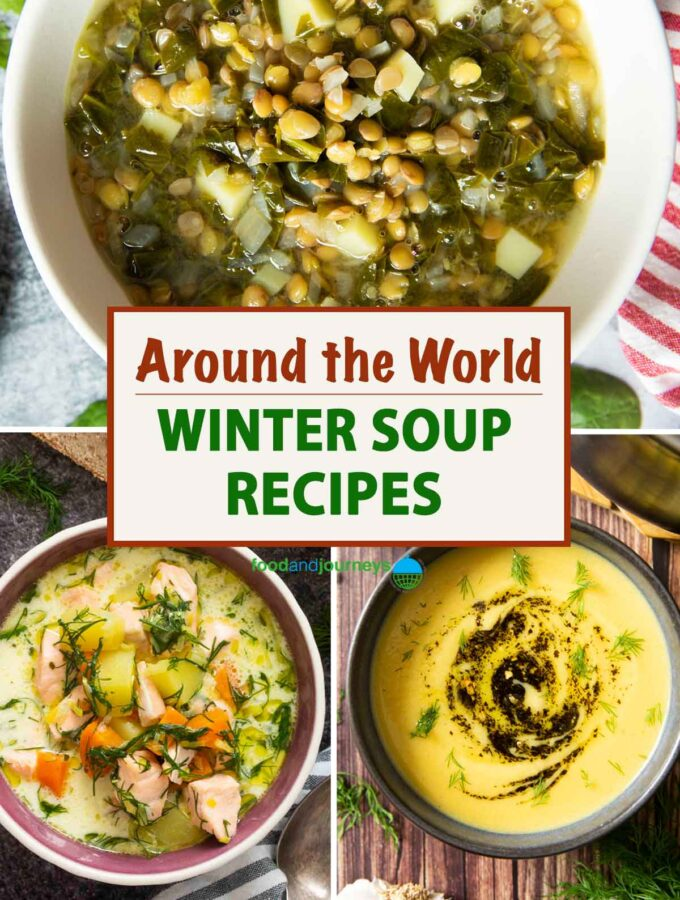 Around the World: Winter Soup Recipes