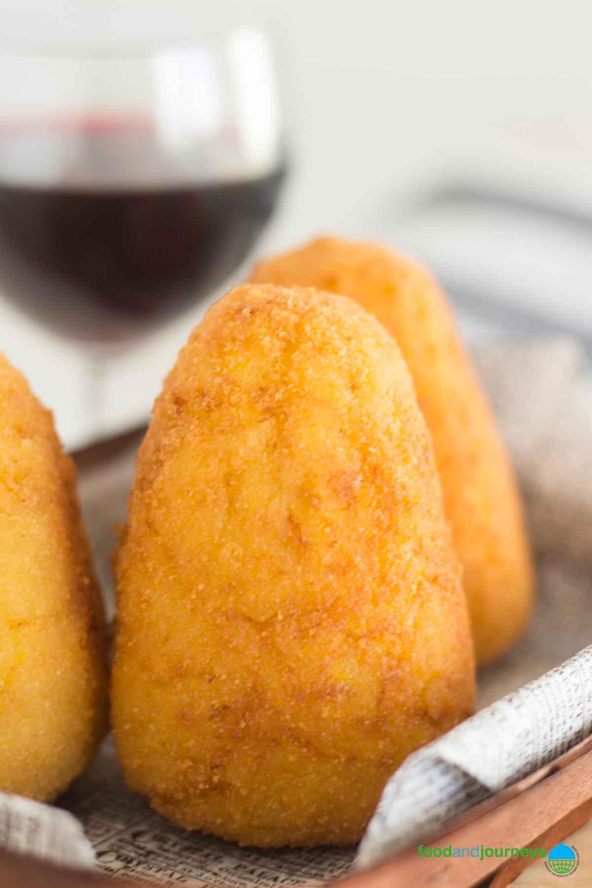 Image of Arancini, as part of Best Italian Street Food Recipes.