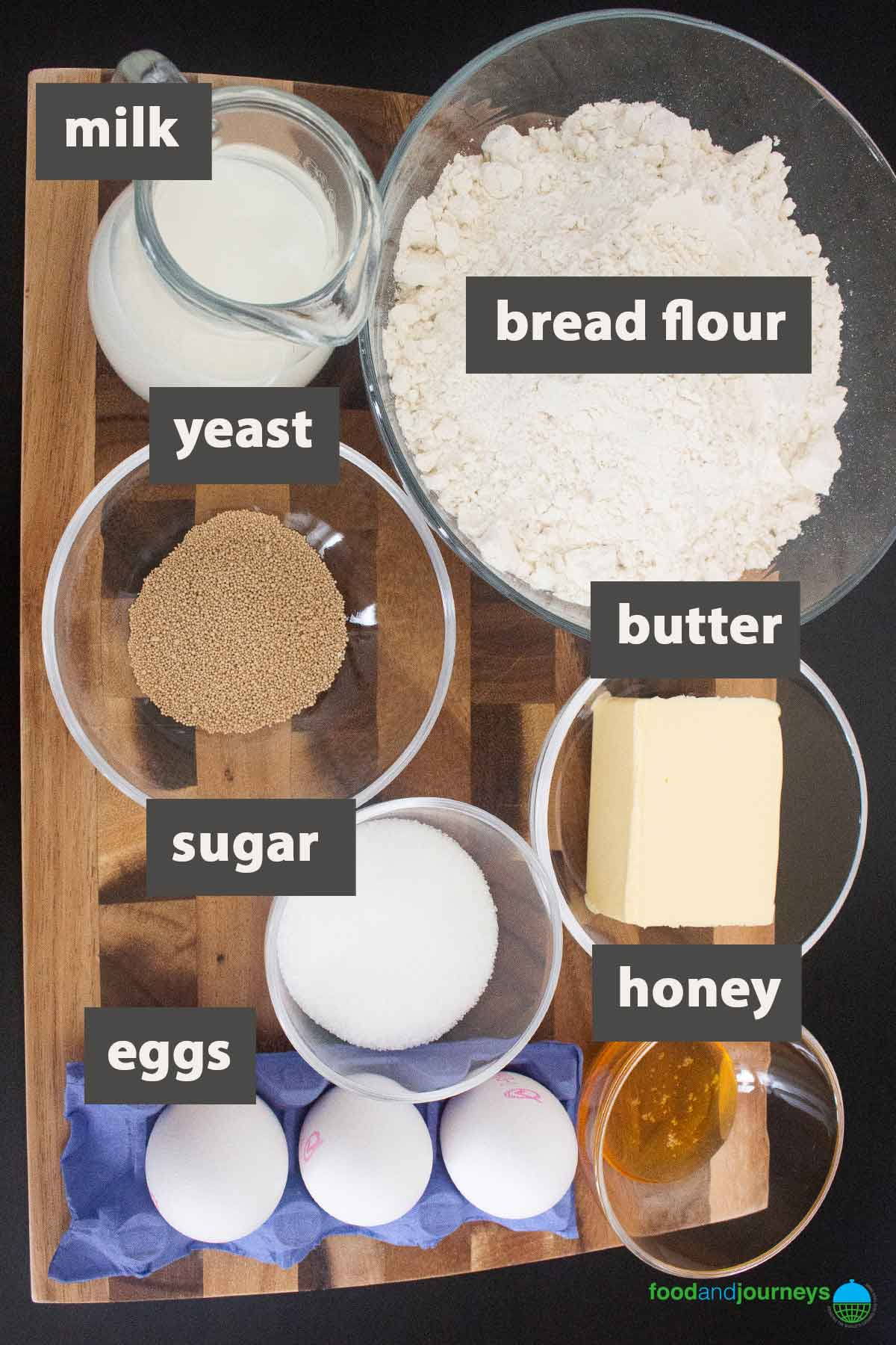 May2021 Updated image for ingredients needed for making Sicilian brioche at home.