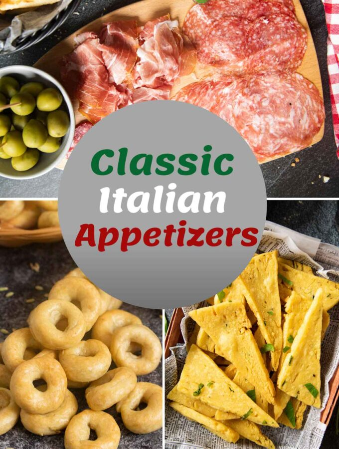 Cover image for Classic Italian Appetizers, June 2021.